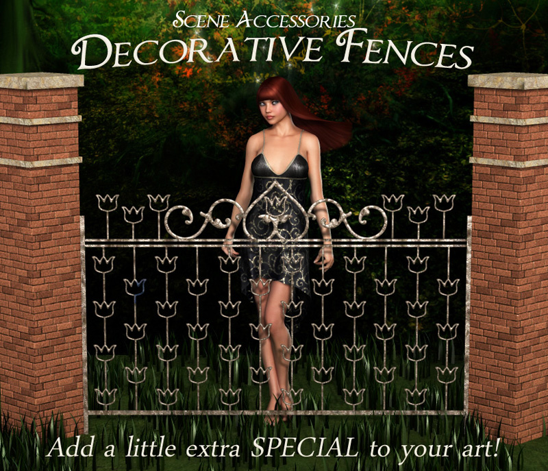 Scene Accessories-Fences