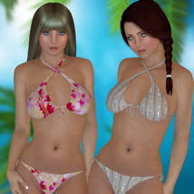 Beach Crossing Clothing 3-DArena
