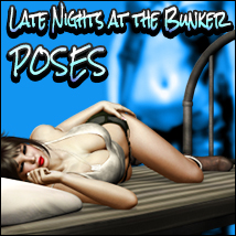 i13 Late Nights at the Bunker POSES 3D Figure Assets 3D Models ironman13