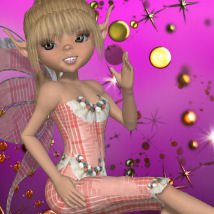 DA-SummerTime for Amity Ice Fairy Clothing Footwear Themed DarkAngelGrafics