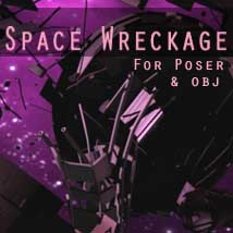 SpaceWreckage 3D Models shawnaloroc