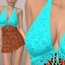 Sexy Dress II 3D Figure Assets 3D-Age