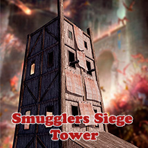 Smugglers Siege Tower 3D Models 3D Figure Essentials 1971s