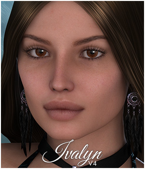 Sabby-Ivalyn for V4 and Genesis 3D Figure Assets 3D Models Sabby