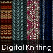 STG Digital Knitting 2D Stargazy