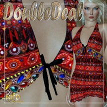 Sexy Dress II - DoubleDeal Clothing Software renapd