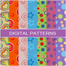 Digital Patterns - Retro 2D Graphics Atenais