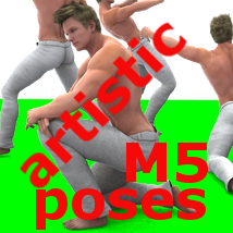 Farconville's Artistic Poses for Michael 5 3D Models 3D Figure Essentials farconville