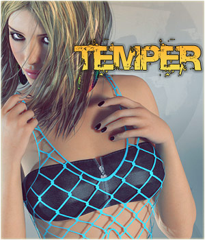 Temper Clothing Themed lilflame