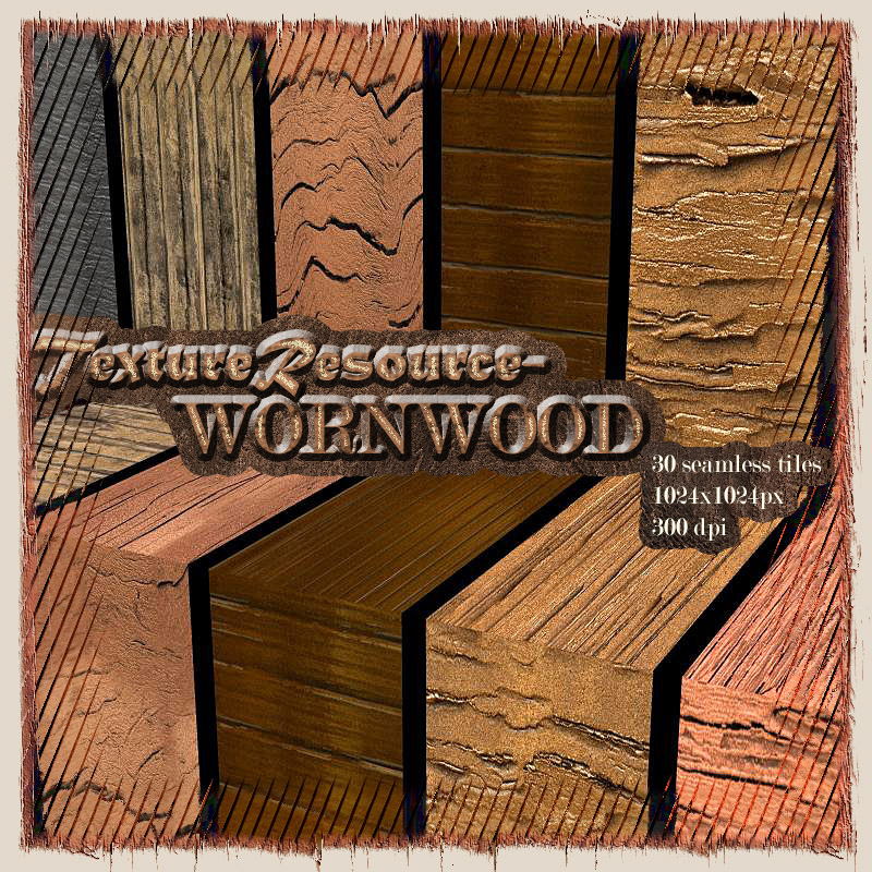 TextureResource-WORNWOOD