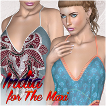 India for The Maxi Clothing Atenais