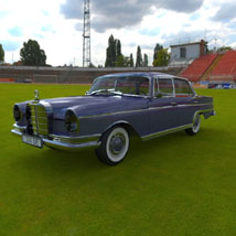 Mercedes 300 SE (for 3D Studio Max) 3D Models Digimation_ModelBank