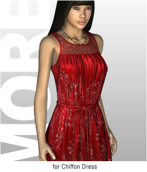 MORE Textures & Styles for Chiffon Dress Clothing Software Themed motif