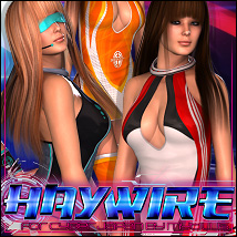 Haywire for Cyber Japan 3D Figure Assets ShanasSoulmate