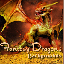 Fantasy Dragons 3D Models 2D -Melkor-
