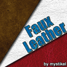 Faux Leather 2D 3D Models mystikel
