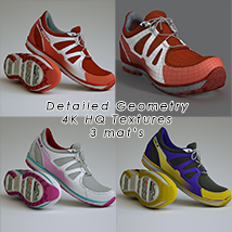 Slide3D Sneakers image 2