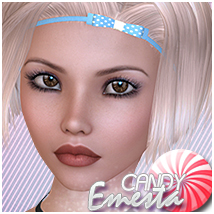 Candy Emesta Themed Hair Sveva