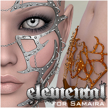 Elemental - for Samaira Themed Clothing P3D-Art