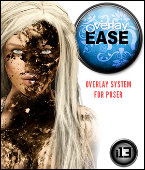 i13 OVERLAY EASE 3D Figure Essentials Software ironman13