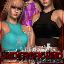 Underground for Cut Out Top V4/A4/G4 3D Figure Essentials ShanasSoulmate