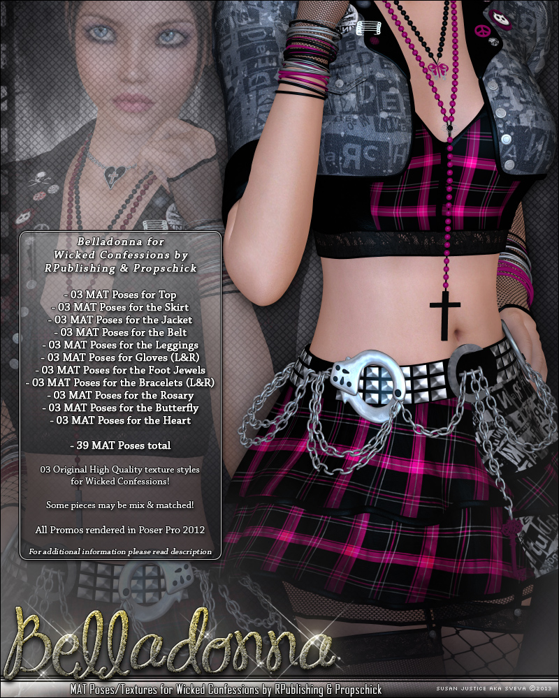 Belladonna for Wicked Confessions