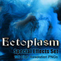 Ectoplasm special effects set 2D Graphics TheToyman