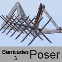 Barricades 3 for Poser by andreasgr