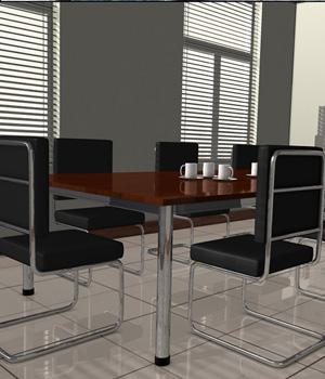 3D Assets: Meeting Room 3D Models Imaginary_House