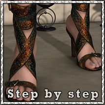 Step By Step: Ankle Wraps Footwear Themed sandra_bonello