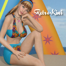 RetroKini for V4/A4/G4/Elite Clothing Cariad