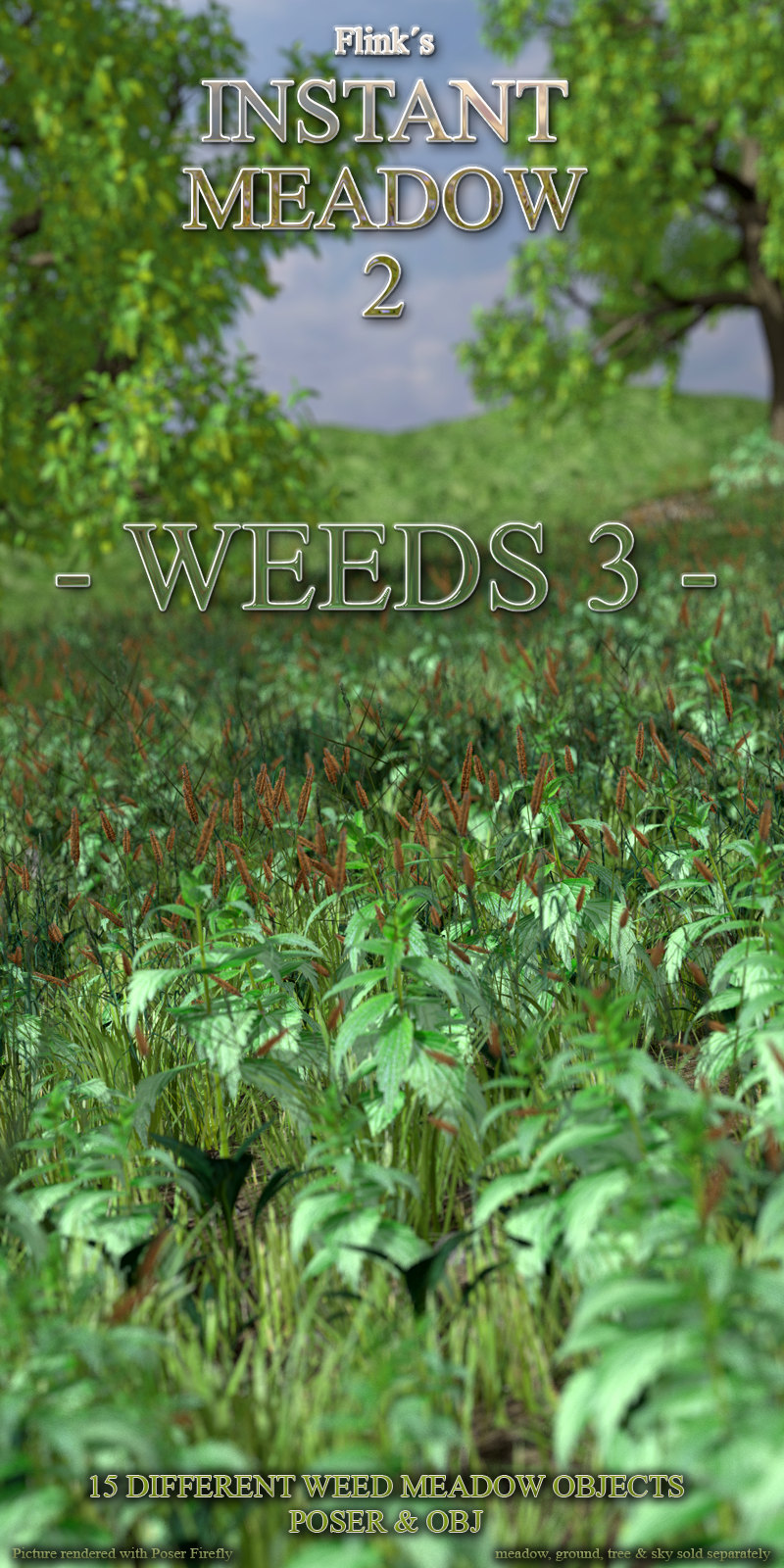 Flinks Instant Meadow 2 - Weeds 3