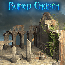 AJ_Ruined_Church Themed Props/Scenes/Architecture -AppleJack-