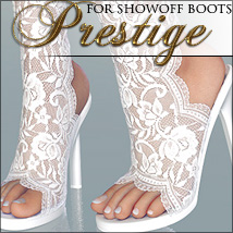 Prestige for Showoff Boots 3D Figure Essentials 3D Models NemesisT