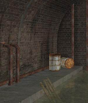 Little Sewer  Themed Props/Scenes/Architecture Software Imaginary_House