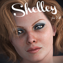 Shelley 3D Figure Assets Toffanello