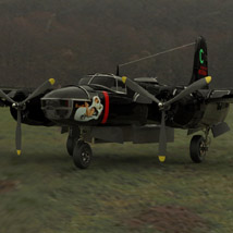 A/B 26C Invader (for 3D Studio Max) Themed Software Digimation_ModelBank