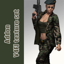 Addon V4FJ texture set 3D Figure Essentials kobamax