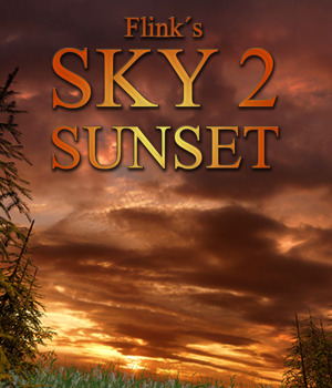 Flinks Sky 2 - Sunset Themed Props/Scenes/Architecture Flink