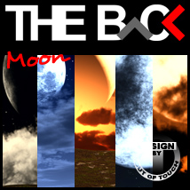 THE BACK Moon 3D Models 3D Lighting : Cameras outoftouch