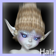 Amity MerFae HAIR 3D Figure Essentials 3DTubeMagic