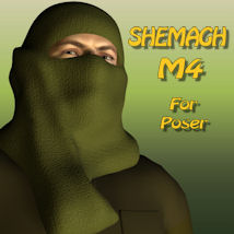 Shemagh 3D Figure Essentials 3D Models pappy411