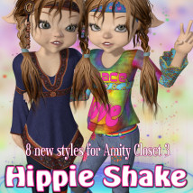 Hippie Shake Accessories Clothing Themed JudibugDesigns