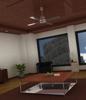 3D Assets: Interior Room Props/Scenes/Architecture Software Themed Imaginary_House