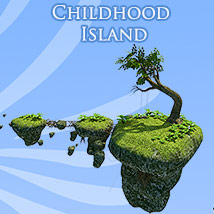 Childhood Island 3D Models 1971s