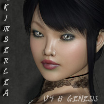 RM Kimberlea V4 and Genesis 3D Figure Assets rebelmommy
