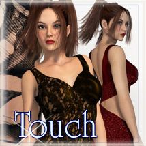 Touch - Jersey Dress 2 Clothing Themed kaleya