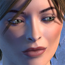 Exnem Cassandra for V4 3D Models 3D Figure Essentials exnem