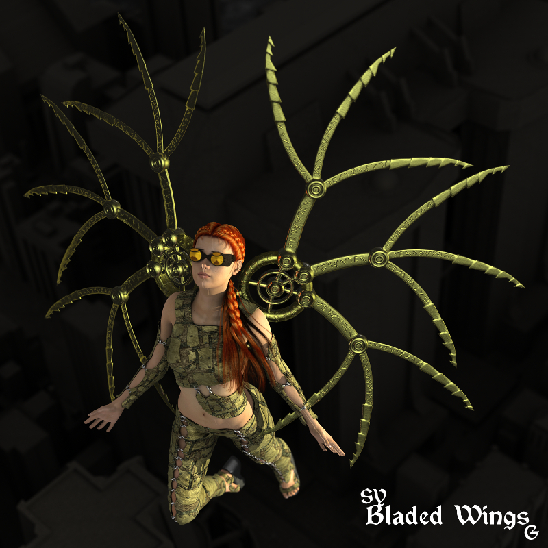 SY Bladed Wings G