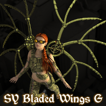 SY Bladed Wings G 3D Models SickleYield